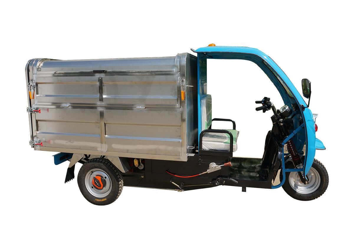 1.8米不锈钢垃圾清运车